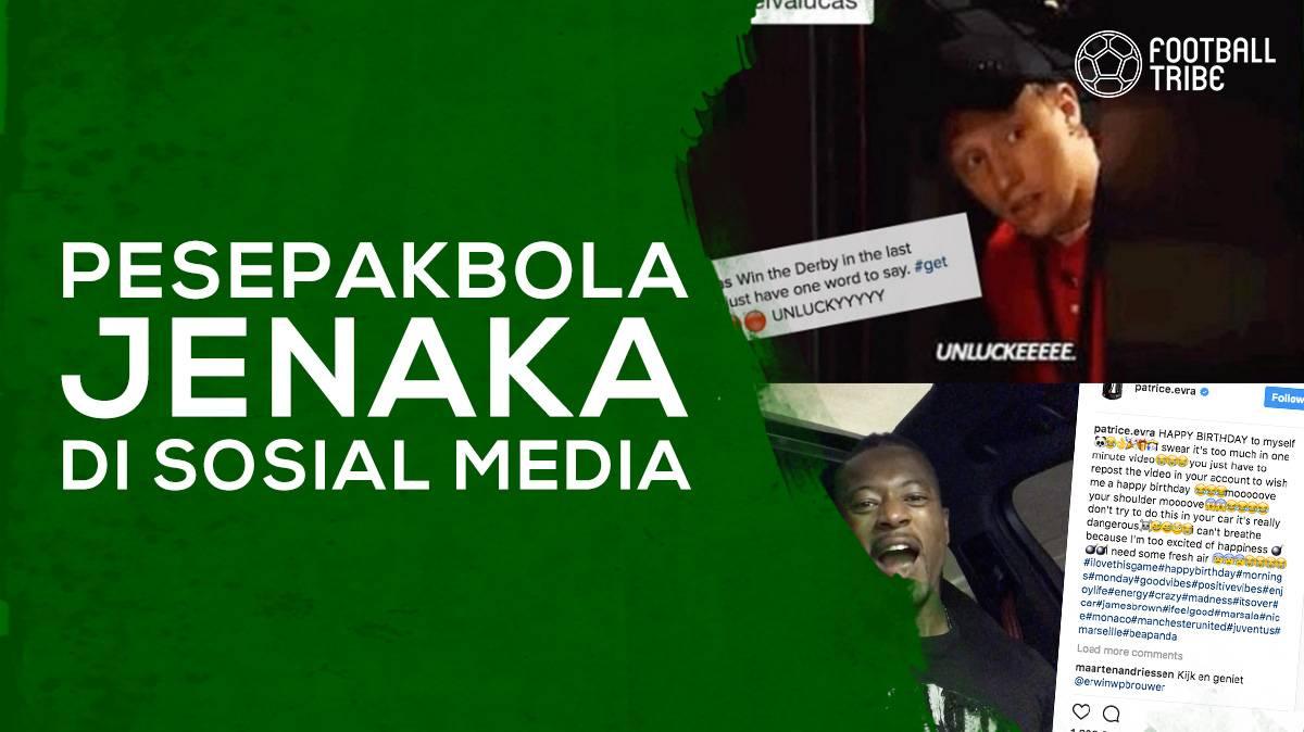 Para Pesepak Bola Jenaka Di Sosial Media Football Tribe Indonesia