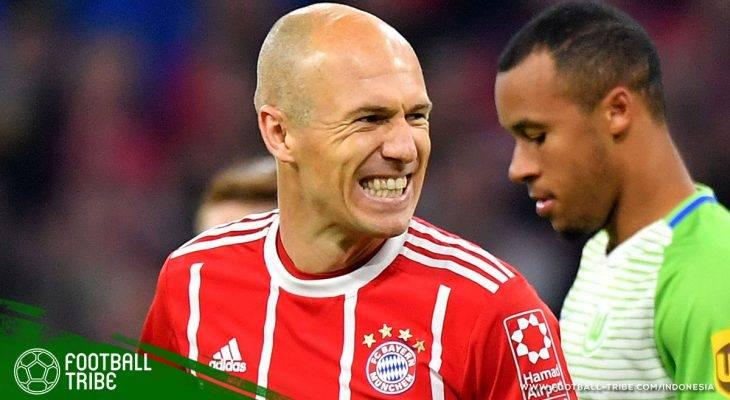 Arjen Robben dan Namanya yang Harum di Bayern München