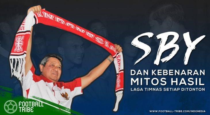 Susilo Bambang Yudhoyono dan Mitos Hasil Laga Timnas