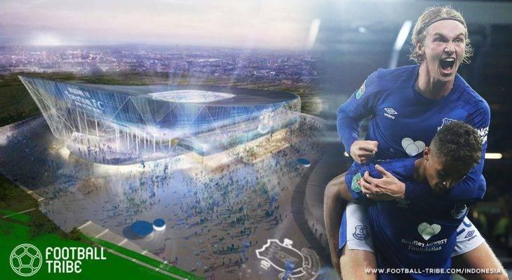 Stadion Baru Everton: Benteng di Tepi Laut yang Lebih Besar dari Anfield