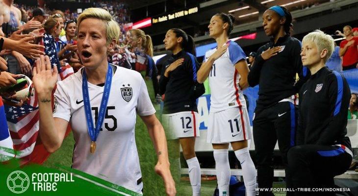 Berlutut Saat Lagu Kebangsaan dan Kontroversinya di Sepak Bola Amerika Serikat
