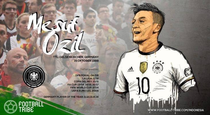 Mesut Özil, Kemewahan yang Sering Terlupakan oleh Arsenal
