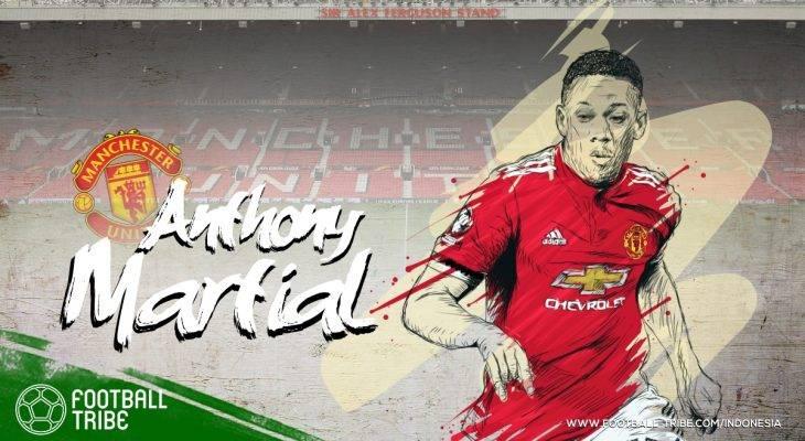 Deretan Skill-Skill Terbaik Anthony Martial di Manchester United