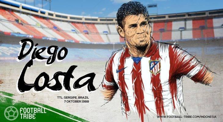 Diego Costa, Si Pemburu Gol dan Pembuat Onar