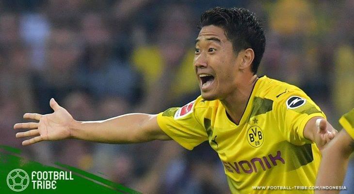 Rekor Manis Shinji Kagawa di Bundesliga