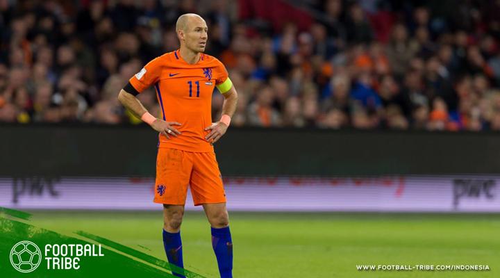 Akhir Cerita Arjen Robben di Belanda: Serba Pahit dan Manis
