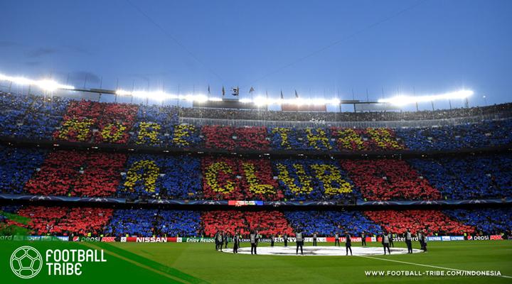 Stadion Camp Nou Bersiap Punya Nama Baru?