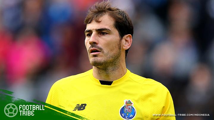 Casillas telah melewati batas toleransi