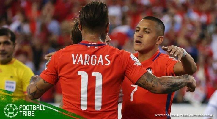 Gol Larut Alexis Sanchez Jaga Asa Cile ke Piala Dunia 2018