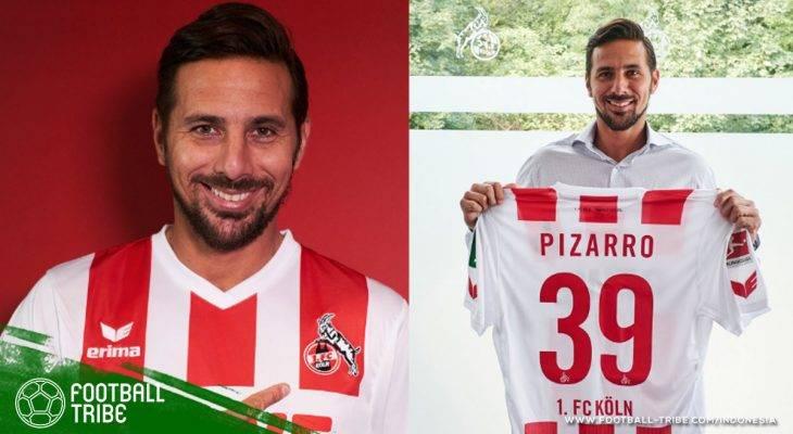 Harapan FC Köln dalam Sosok Claudio Pizarro
