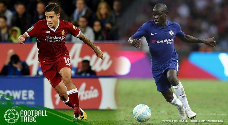 Antara N'Golo Kante dan Philippe Coutinho, Siapa akan Pecahkan Rekor Transfer Liga Inggris?