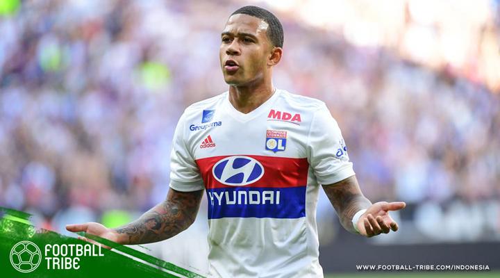 Memphis Depay yang 'Hidup Kembali' di Olympique Lyonnais