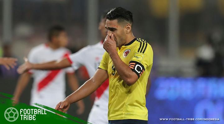 Bisikan Radamel Falcao serta Nasib Piala Dunia Kolombia dan Peru