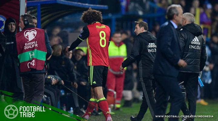 Berita Buruk untuk Manchester United: Marouane Fellaini Cedera
