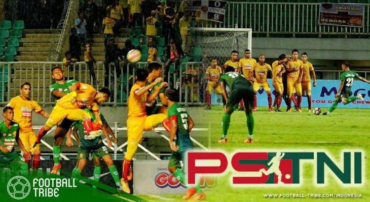 Jungkalkan Sriwijaya FC, PS TNI Menjauh dari Zona Degradasi