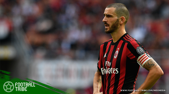 Polemik Kepantasan Leonardo Bonucci sebagai Kapten AC Milan