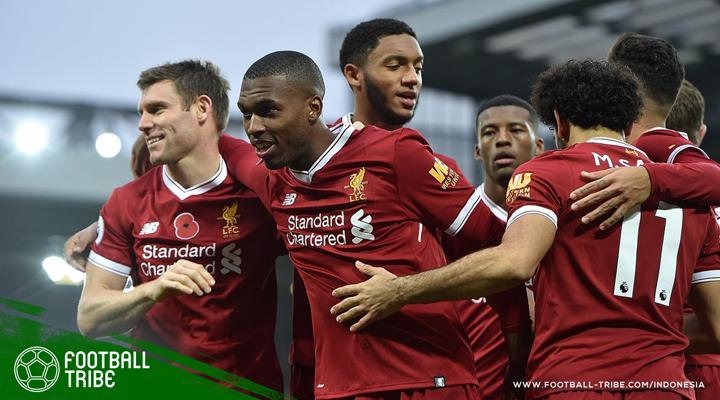 Gol ke-100 Daniel Sturridge Antar Liverpool Taklukkan Huddersfield Town