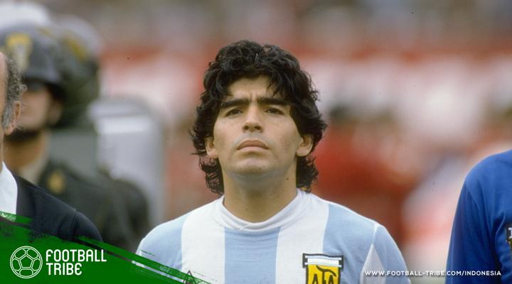 Hikayat Manusia Setengah Dewa Bernama Diego Maradona
