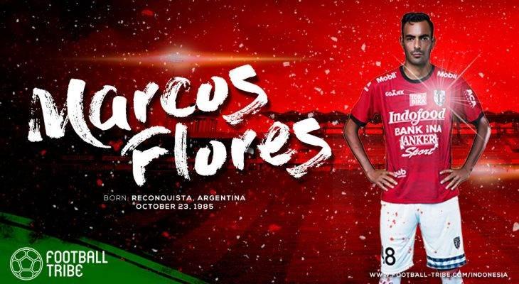 Cinta Lama Bersemi Kembali untuk Marcos Flores di Bali United?