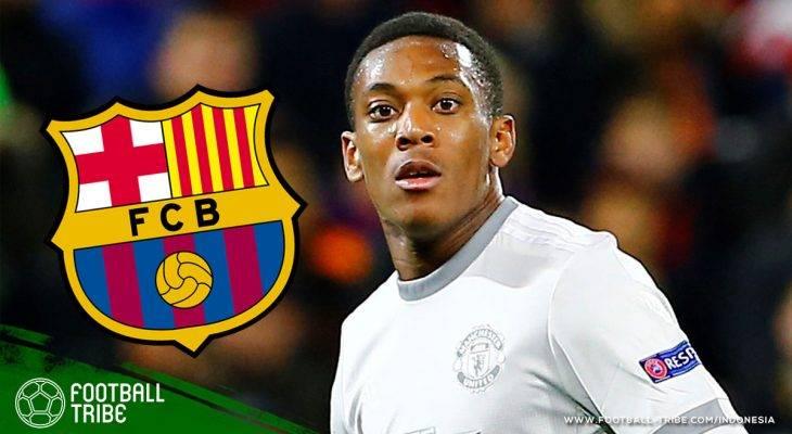 Membahas Kemungkinan Pindahnya Anthony Martial ke Barcelona