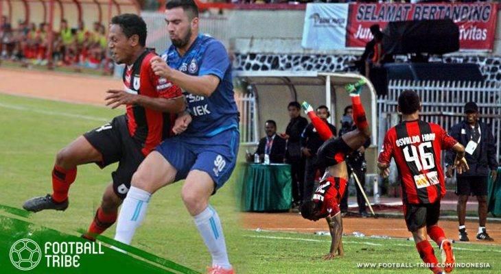 Osvaldo Haay Sukses Bawa Persipura Jayapura Jaga Asa Juara