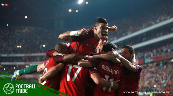 Portugal 'Rampas' Tiket Lolos Piala Dunia dari Tangan Swiss