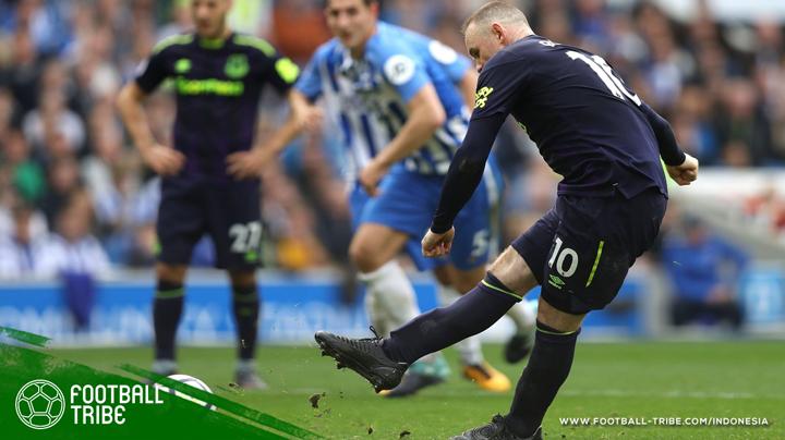 Sepatu yang dipakai Rooney