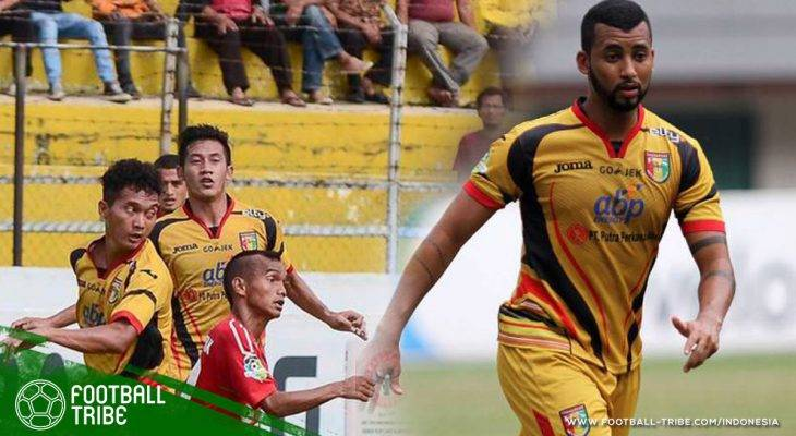 Dua Gol Marclei Santos Dekatkan Semen Padang ke Jurang Degradasi