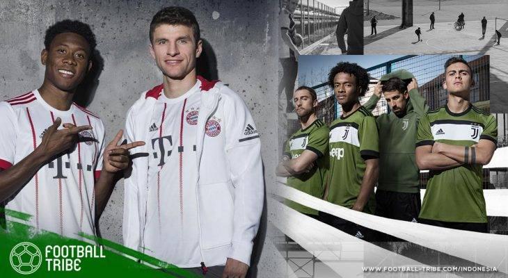 Mengintip Lima Kostum Template adidas untuk Musim 2018/2019