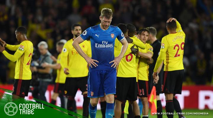Gol Larut Mantan Pemain Manchester United Bawa Watford Kalahkan Arsenal