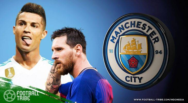 Fernandinho: Manchester City Sanggup Beli Lionel Messi dan Cristiano Ronaldo