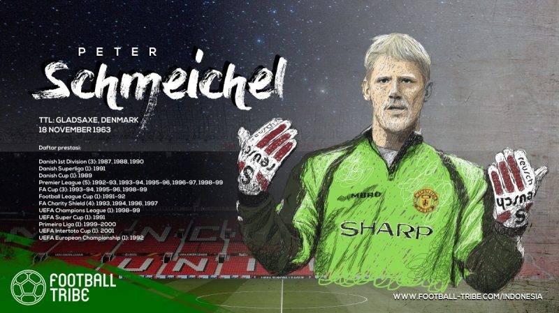 Schmeichel sangat dihormati karena kemampuannya