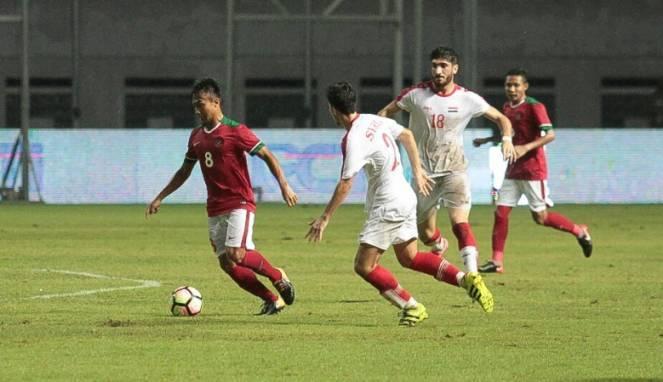 Parade Lima Gol di Cikarang, Indonesia U-23 Tunduk dari Suriah