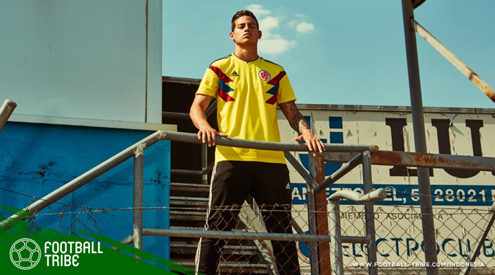 adidas Hadirkan Desain Jersey 1990-an di Piala Dunia 2018
