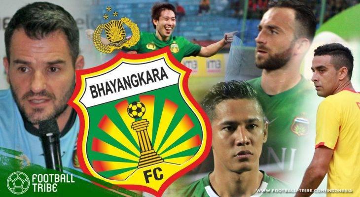 Bau Anyir Gelar Juara Bhayangkara FC