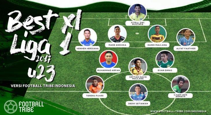 Sebelas Pemain Terbaik U-23 di Liga 1 2017