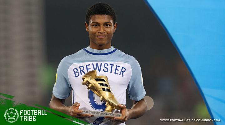Steven Gerrard: Rhian Brewster Harus Bersabar