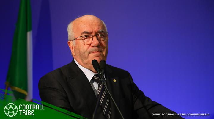 Carlo Tavecchio Mundur dari FIGC, tapi Enggan Disalahkan