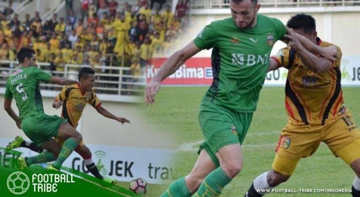 Cetak Gol ke Gawang Mantan Klub, Ilija Spasojevic Selamatkan Bhayangkara FC dari Kekalahan