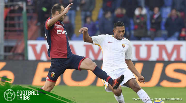 Daniele De Rossi Kartu Merah, AS Roma Tertahan di Genoa