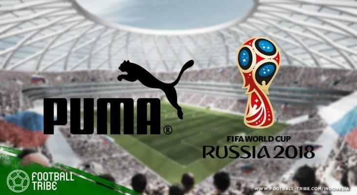 Getirnya Nasib PUMA di Piala Dunia 2018