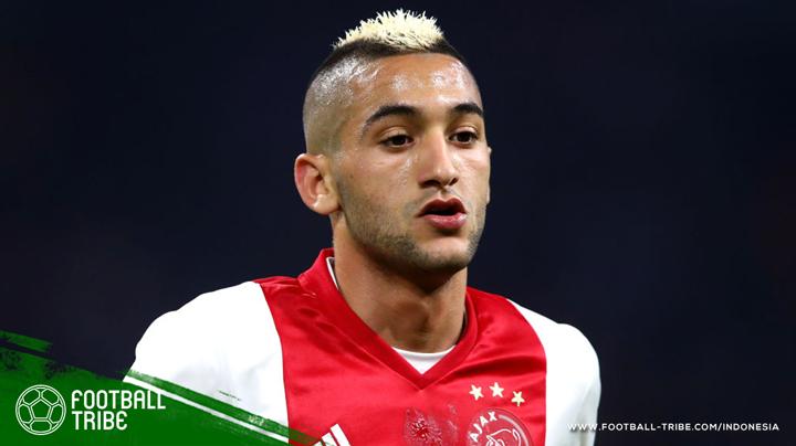 Ziyech akan bermain di Piala Dunia 2018