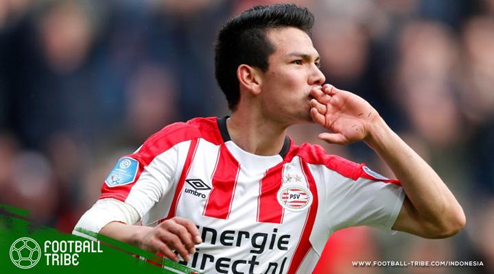 Hirving Lozano dan Nostalgia Winger Terbaik PSV Eindhoven