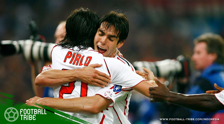 Nasib Tragis Andrea Pirlo dan Kaká di Laga Terakhirnya