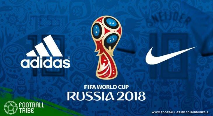 adidas Pakai Ide Nike untuk Jersey Piala Dunia 2018?