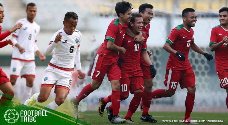 Lima Gol dengan Kaki Kiri di Babak Kedua, Timnas U-19 Kalahkan 'Saudara Muda'