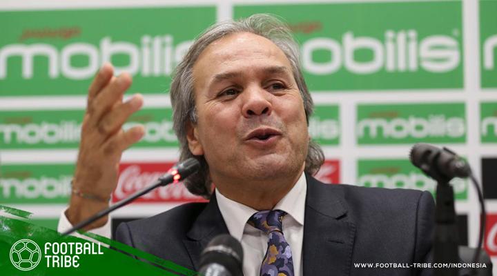Manajer Timnas Aljazair buat Riyad Mahrez dan Jurnalis Terpana Ketika Marah saat Konferensi Pers