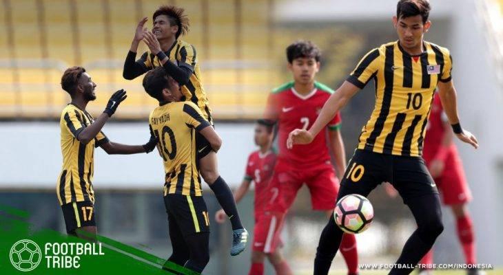 Kedisiplinan Malaysia U-19 Kalahkan Indonesia dengan Skor Telak