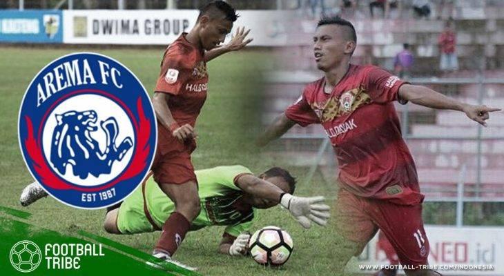 Merapat ke Arema FC, Rivaldy Bauwo Bisa Pertajam Lini Serang Singo Edan