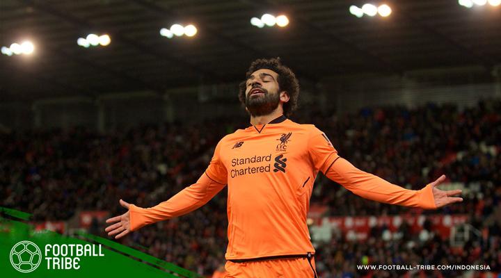 Mane dan Salah Kembali Menggila, Liverpool Menang di Kandang Stoke City